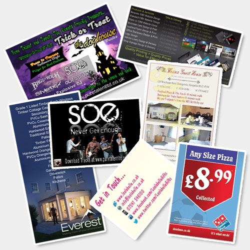 Leaflets Design and Print