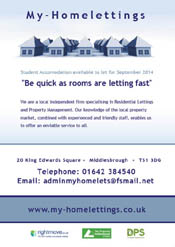 My Home Lettings Leaflets