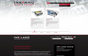 Ink and Wide Format Website Design