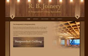RB Joinery Responsive Website